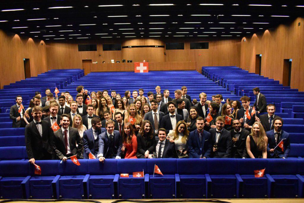 Junior Entrepreneurs Suisse durant la conférence européenne des Juniors Entreprise.